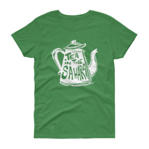 T-shirt femme TEA IN THE SAHARA, manches courtes