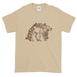 T-shirt homme Desert Trekking Sahara avec dromadaire