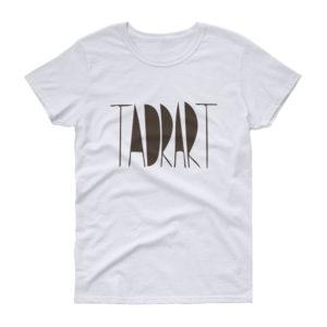 T-shirt femme TADRART, manches courtes
