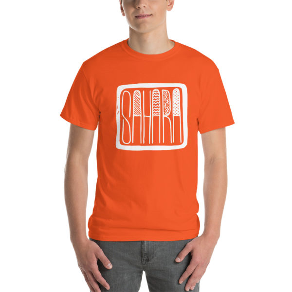 T-shirt SAHARA orange pour homme