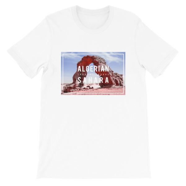 T-shirt Algerian Sahara TADRART ROUGE pour homme et femme