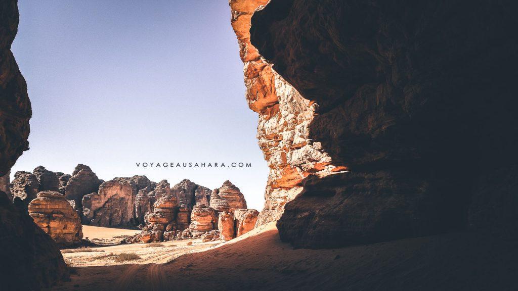 Visite de Tikoubaouine en 4x4 (Algérie)