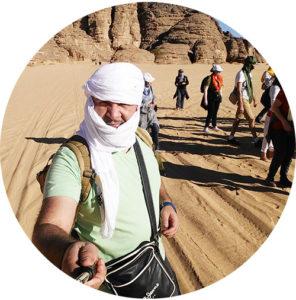 Voyage organisé dans le Sahara algérien