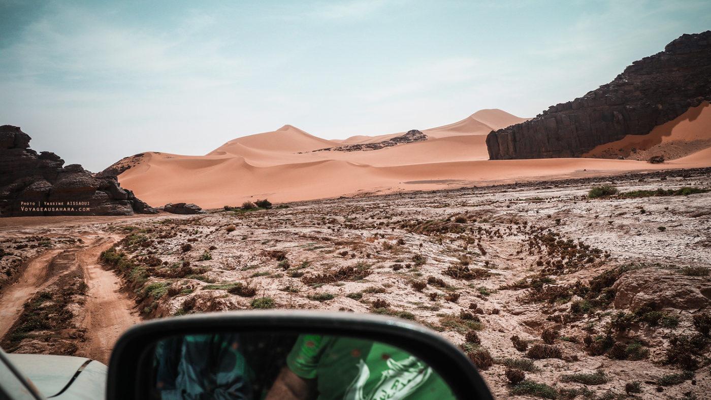 ROAD TRIP. Désert du Sahara (Tadrart). Algérie