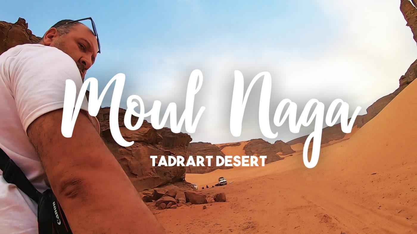 Moul Naga, désert de la Tadrart Rouge