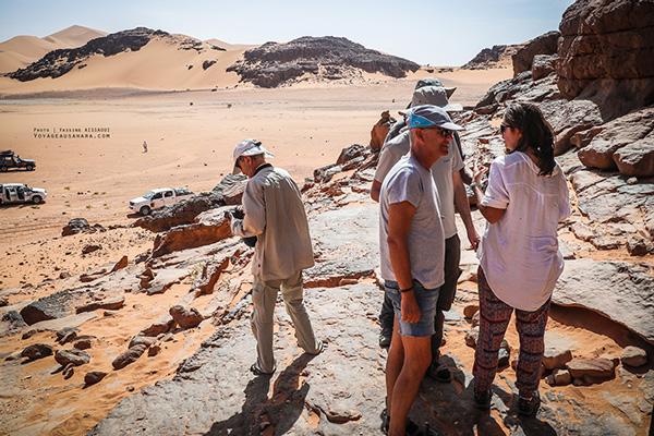 Voyages organisés dans le désert de la Tadrart