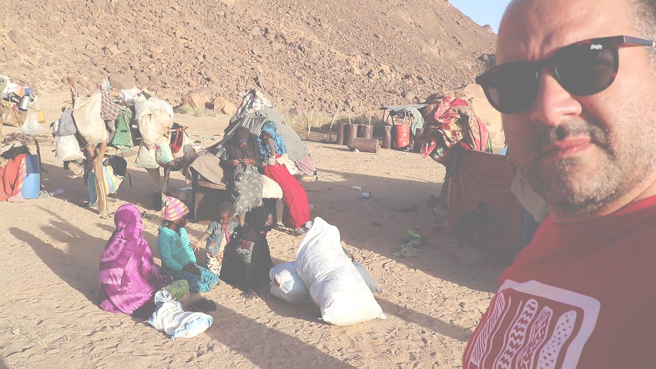 J'ai vu la misère des nomades et j'ai pleuré