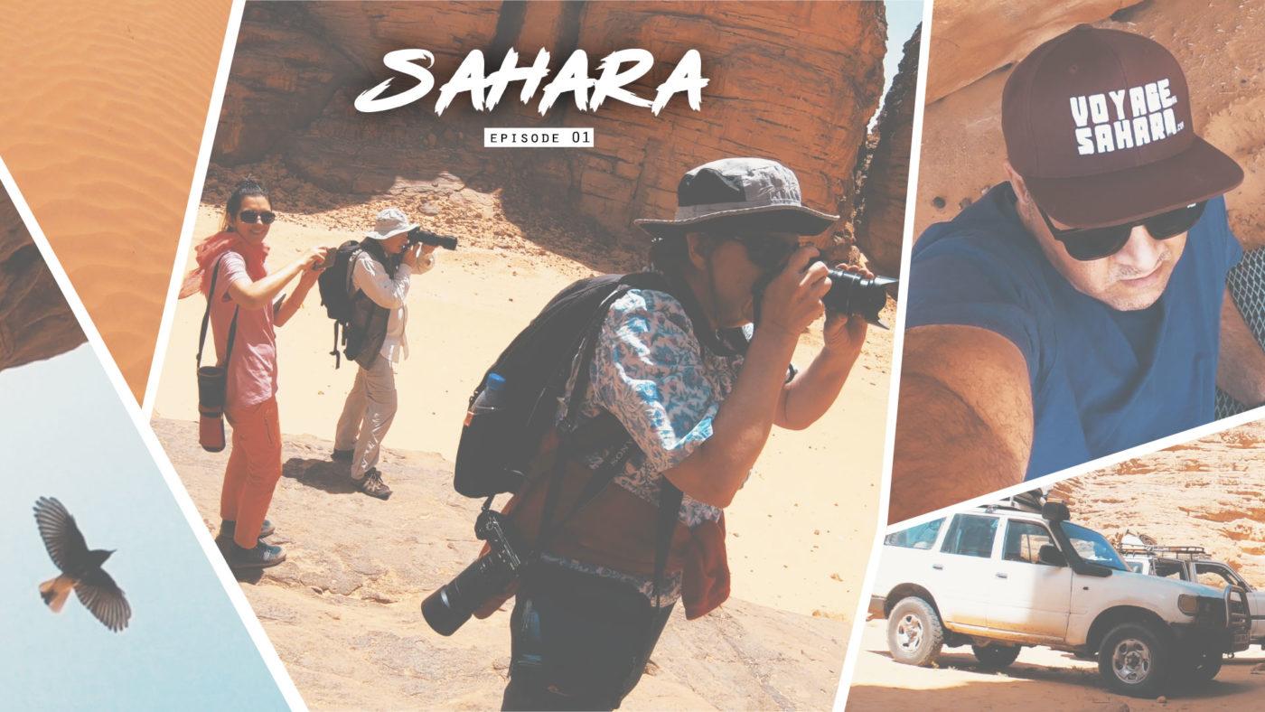 Les touristes européens font une belle découverte dans le désert algérien