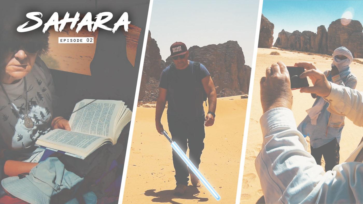 La randonnée Star Wars en Algérie (désert de Tatooine ?)