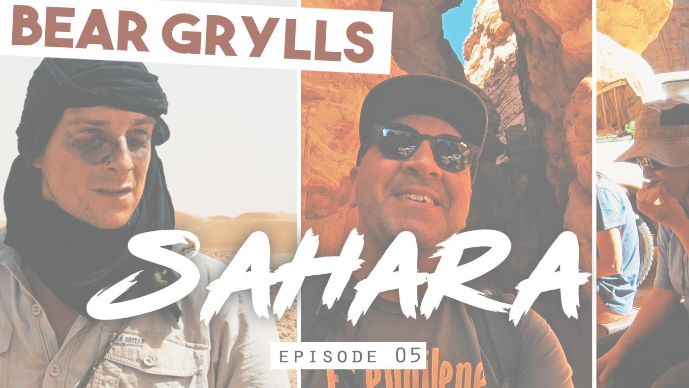 Bear Grylls : notre petit déj dans le désert algérien